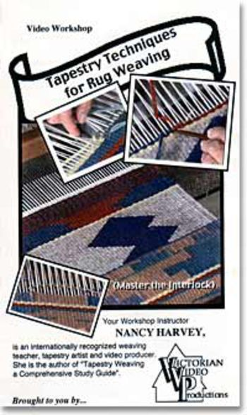 Weaving cd-dvd DVD Tapestry Techniques for Rug Weaving