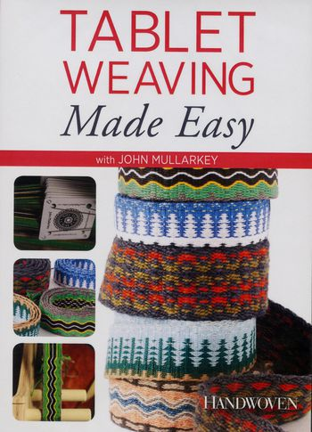 Weaving cd-dvd DVD - Tablet Weaving Made Easy