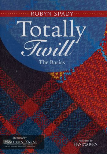 Weaving cd-dvd DVD Totally Twill - The Basics