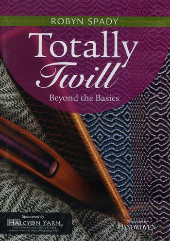 Weaving cd-dvd DVD Totally Twill - Beyond the Basics