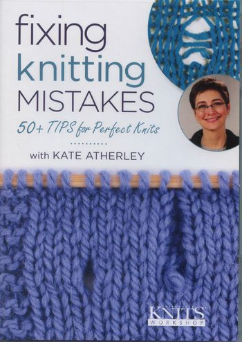 Knitting cd-dvd DVD Fixing Knitting Mistakes - 50 + Tips for Perfect Knits
