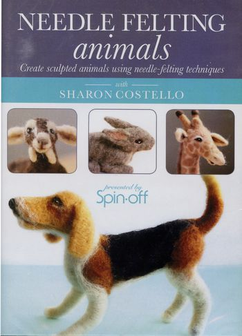 Felting cd-dvd DVD Needle Felting Animals