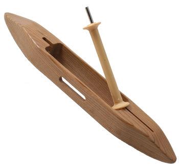 """Weaving equipment Leclerc 11"""" Slim Open Bottom Boat Shuttle"""