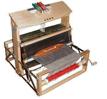 "Weaving equipment Leclerc Voyageur 15.75"" Table Loom 4-shaft"