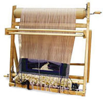 "Weaving equipment Leclerc Penelope II 22.5"" Rigid Heddle Tapestry Loom"