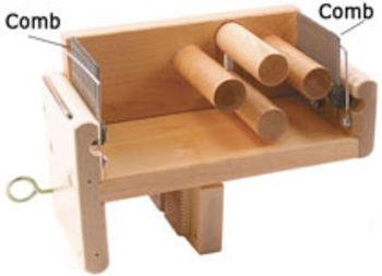 Weaving equipment Leclerc Tension Box Comb, 5 dent