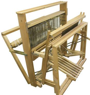 "Weaving equipment Leclerc Artisat 36"" 4-shaft 6-Treadle"
