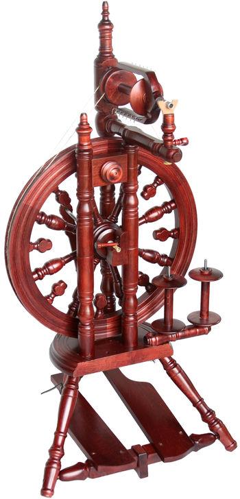 Spinning equipment Kromski Minstrel Spinning Wheel, Mahogany