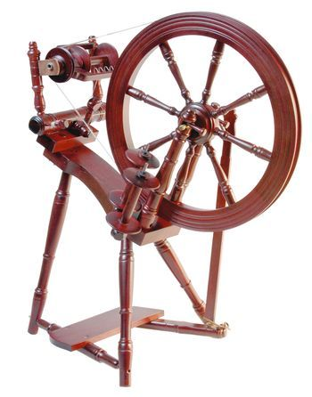 Spinning equipment Kromski Prelude Spinning Wheel, Mahogany