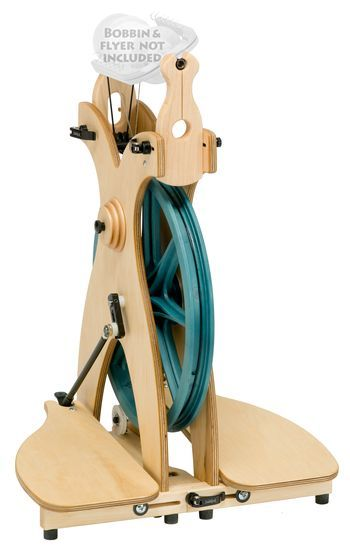 Spinning equipment Schacht Sidekick Spinning Wheel w/out flyer, bobbins, or whorl)