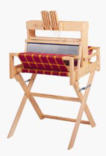 """Weaving equipment Schacht 20"""" Table Loom Floor Stand"""