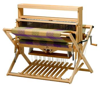 "Weaving equipment Schacht 36"" Mighty Wolf Loom,  4-Now 4-Later, maple w/Height Extender"