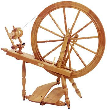 "Spinning equipment Schacht - Reeves Spinning Wheel 30""  Double-Treadle , Cherry"