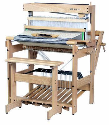 "Weaving equipment Louet  David 36"" 8-Shaft Floor Loom new Beater"