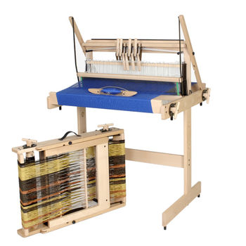 "Weaving equipment Louet Jane 27.5"" 8-Shaft Table Loom"