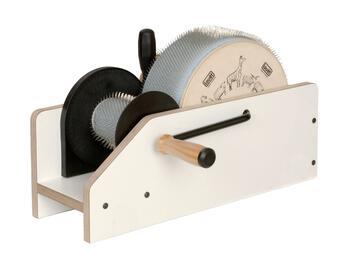 "Spinning equipment Louet 4"" Jr Roving Carder"