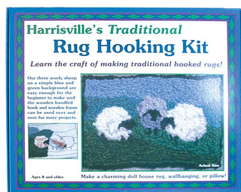 Rug Making kits Harrisville Traditional Rug Hooking Kit