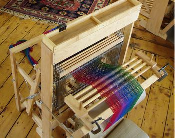 "Weaving equipment Harrisville 40"" Tensioning Device"