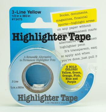 Multi-Craft equipment Highlighter Tape - Green