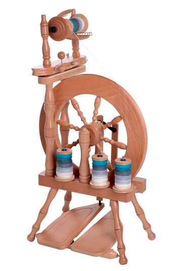 Spinning equipment Ashford Traveller Spinning Wheel, Double-Drive, Double-Treadle, Unfinished