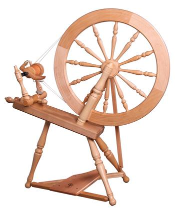 Spinning equipment Ashford Elizabeth 2 Spinning Wheel, Clear Lacquer