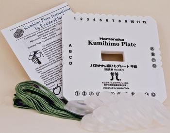 Braiding and Kumihimo equipment BraidersHand Kumihimo Plate Kit