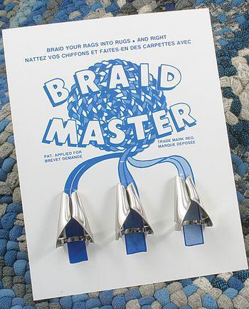 Rug Making equipment Braid Master Set of Three