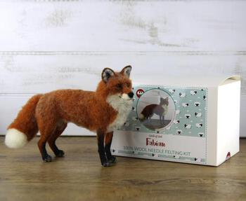 Felting kits Fabian the Fox Felting Kit