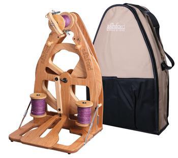 Spinning equipment Ashford Joy 2 Spinning Wheel, Single Treadle w/Carry Bag