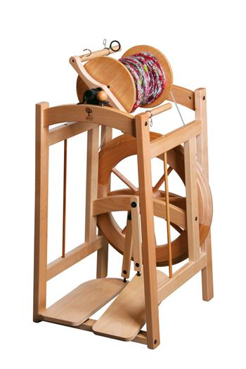 Spinning equipment Ashford Country Spinner 2 Spinning Wheel - Clear Lacquer