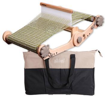 "Weaving equipment Ashford 12"" Knitters Loom and Bag"