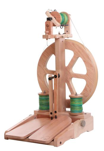 Spinning equipment Ashford Kiwi 3 Spinning Wheel, Clear Lacquer