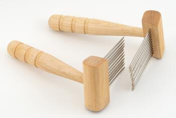 Spinning equipment Acorn Petite Maple Single Row Combs