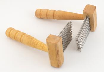 Spinning equipment Acorn Petite Maple Double Row Combs