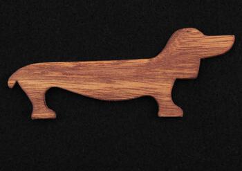 Weaving equipment Dachshund Wiener Dog Weaving Shuttle