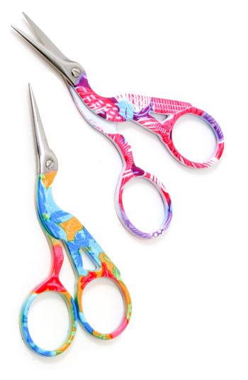 Multi-Craft equipment Multi-colored Stork Scissors