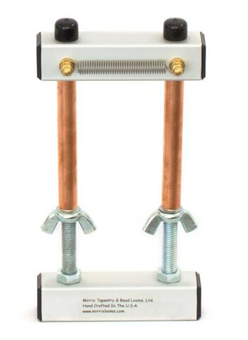 "Weaving equipment 5"" Mini Mirrix Bead Loom: ""Loreli"""