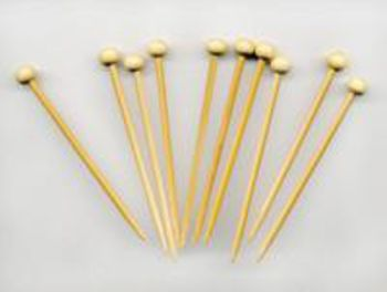 Knitting equipment Bamboo Marking Pins (10)