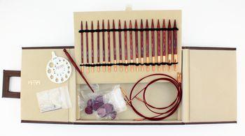 Knitting equipment Symfonie Rose Knitting Needle Set by Knitter's Pride