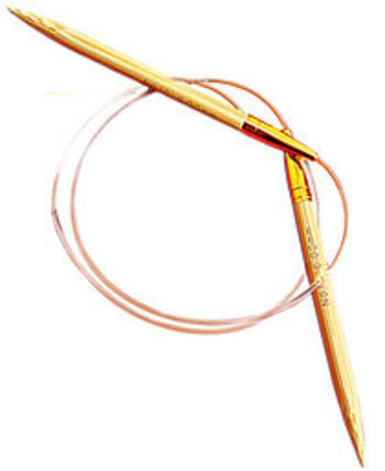 "Knitting equipment 24"" Circular Bamboo Knitting Needles, Size 13"