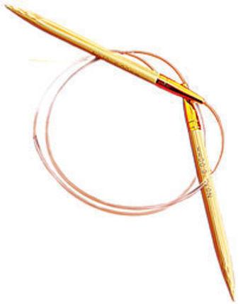"Knitting equipment 29"" Circular Bamboo Knitting Needles, Size  5"
