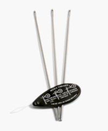 Bobbin Lace and Tatting equipment Tatting Needle Set  (sizes 0, 1, and 2 for yarn)