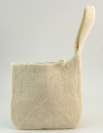 Knitting equipment Medium blank felt case - Natural