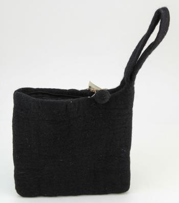 Knitting equipment Clearance - Medium blank felt case - Black