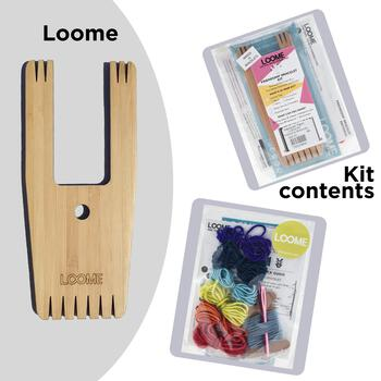 Weaving equipment Loome Kit: Friendship Bracelets (Rainbow)