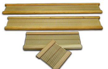 "Weaving equipment Beka 24"" Rigid Heddle Loom – Rigid Heddle Reed8 dent"