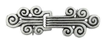 Multi-Craft equipment Antique Silver Metal Clasp