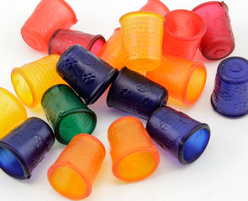 """Multi-Craft equipment Jelly Thimble 3/4"""" Assorted Colors"""