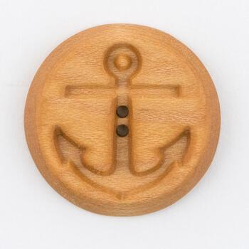 Multi-Craft equipment Wood Button Maple by Alosada Anchor
