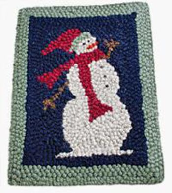 Multi-Craft patterns Snowman Punching or Hooking Pattern